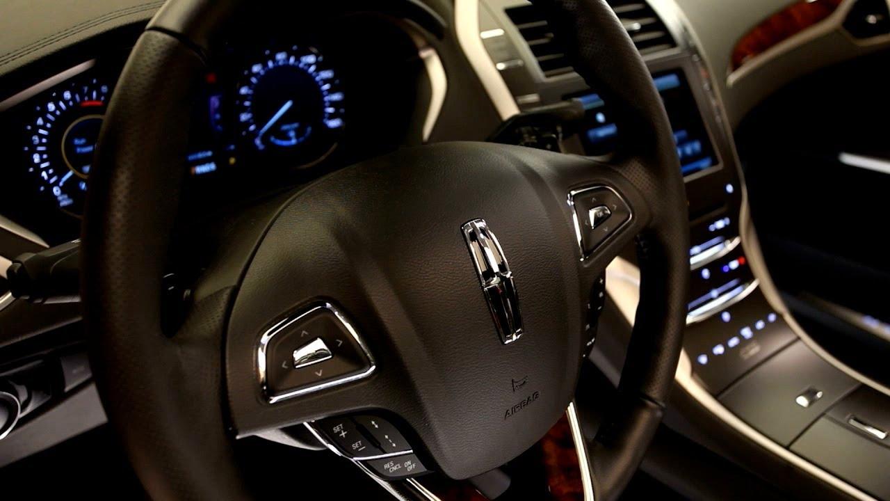 Lincoln MKZ-interior